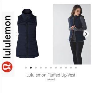 ⭐️Moving Sale⭐️Lululemon Fluffed Up Navy Blue Vest